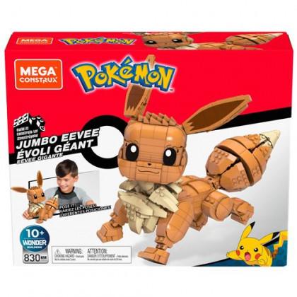 Mega Construx Évoli Jumbo Géant - Pokémon / Mattel