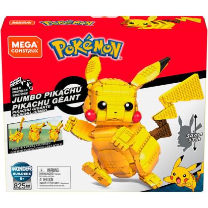 Mega Construx Pikachu Jumbo Géant - Pokémon / Mattel