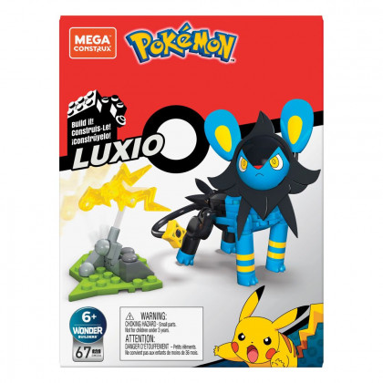 Mega Construx Luxio - Pokémon / Mattel