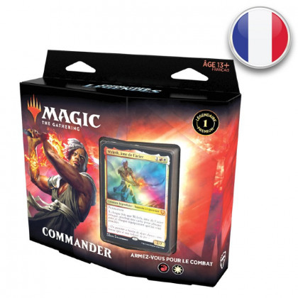 Deck Commander Armez-vous pour le combat Commander Légendes - Magic FR