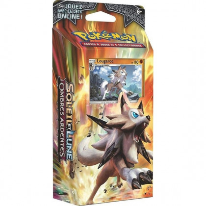 Deck Lougaroc SL3 Ombres Ardentes Rocher Stable - Pokémon FR