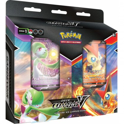 Bundle Decks Combat-V Victini vs Gardevoir - Pokémon FR