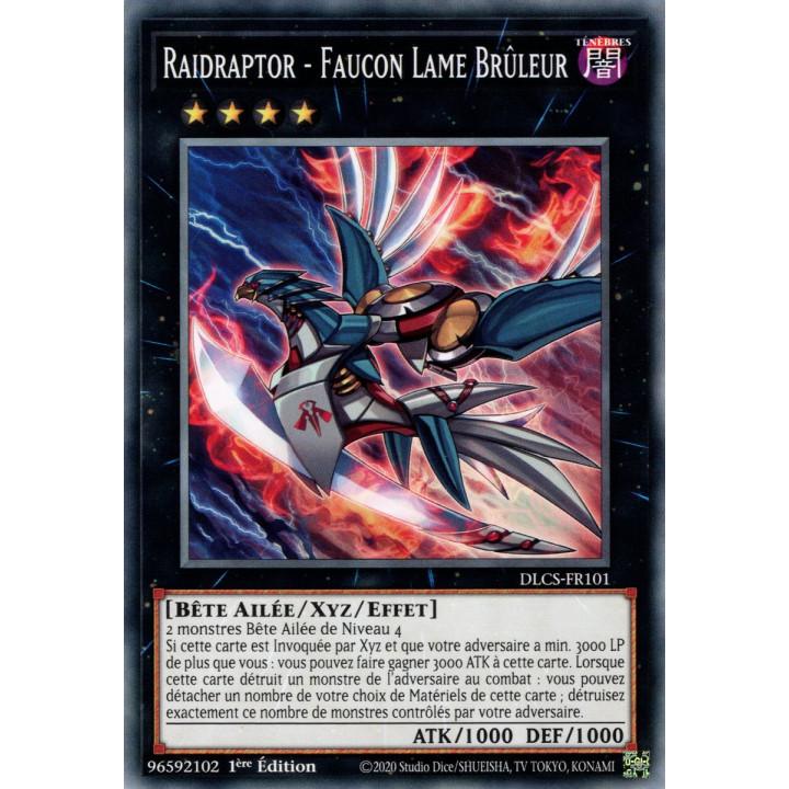 DLCS-FR101 Raidraptor - Faucon Lame Brûleur