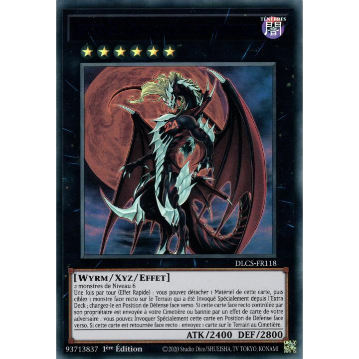 DLCS-FR118 Numéro 24 : Dragulas le Dragon Vampirique (Bleu)