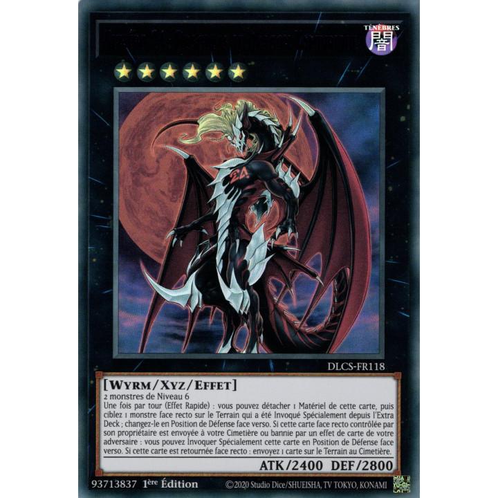 DLCS-FR118 Numéro 24 : Dragulas le Dragon Vampirique (Violet)
