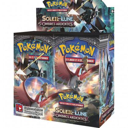 Display Boite De 36 Boosters SL3 Soleil Et Lune Ombres Ardentes - Pokémon FR