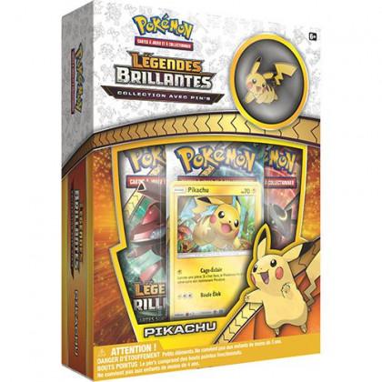 Coffret Pin's Pikachu - Legendes Brillantes Soleil et Lune SL3.5
