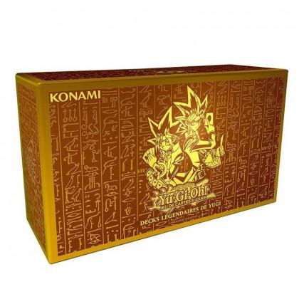 Boîte de rangement du Coffret Decks Légendaires de Yugi - Yu-Gi-Oh!