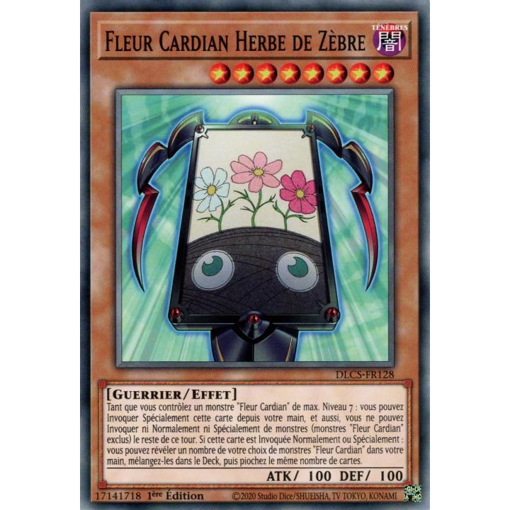 DLCS-FR128 Fleur Cardian Herbe de Zèbre