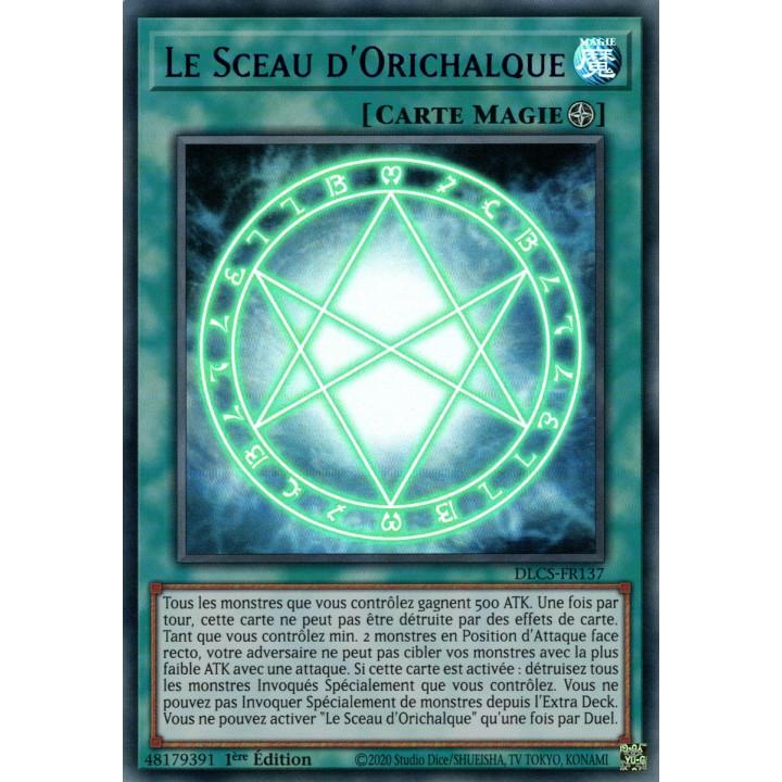 DLCS-FR137 Le Sceau d'Orichalque (Bleu)