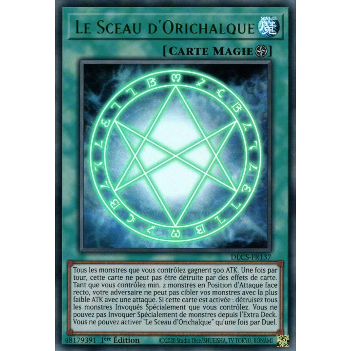 DLCS-FR137 Le Sceau d'Orichalque (Vert)
