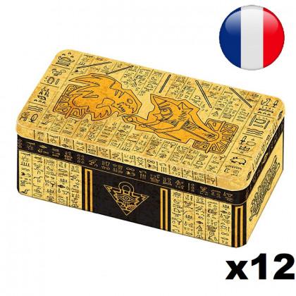 Lot de 12 Méga-Tin Box 2021 Boîte des Batailles Anciennes - Yu-Gi-Oh! FR