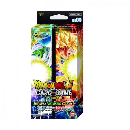 Dragon Ball Super Card Game - Expansion Set GE05 : Saiyan & Namekian Boost