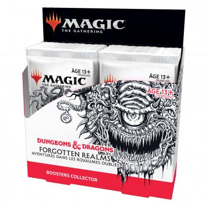 Magic The Gathering - Display/Boite de 12 boosters collectors D&D : Aventures dans les Royaumes Oubliés