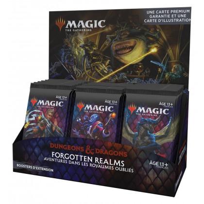 Magic The Gathering - Display/Boite de 30 boosters d'extension D&D : Aventures dans les Royaumes Oubliés