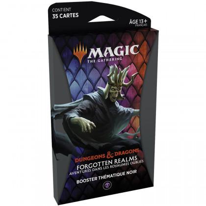 Magic The Gathering - Booster thématique Noir D&D : Aventures dans les Royaumes Oubliés