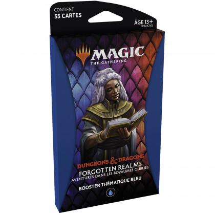 Magic The Gathering - Booster thématique Bleu D&D : Aventures dans les Royaumes Oubliés