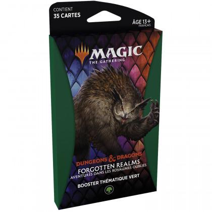 Magic The Gathering - Booster thématique Vert D&D : Aventures dans les Royaumes Oubliés