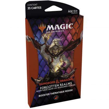 Magic The Gathering - Booster thématique Rouge D&D : Aventures dans les Royaumes Oubliés