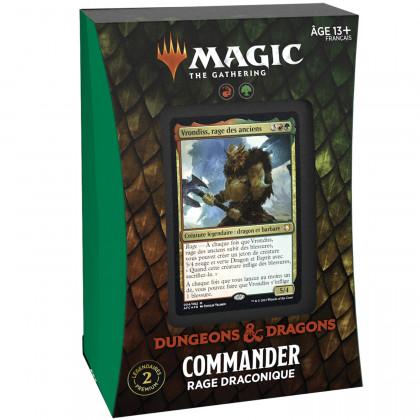Magic The Gathering - Deck Commander Rage Draconique D&D : Aventures dans les Royaumes Oubliés