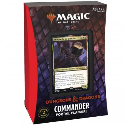 Magic The Gathering - Deck Commander Portail Planaire D&D : Aventures dans les Royaumes Oubliés