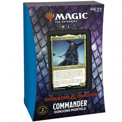 Magic The Gathering - Deck Commander Donjons Mortels D&D : Aventures dans les Royaumes Oubliés