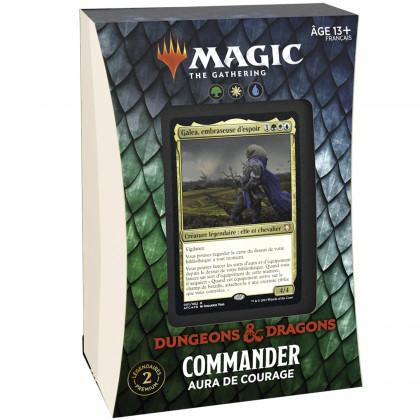 Magic The Gathering - Deck Commander Aura de Courage D&D : Aventures dans les Royaumes Oubliés