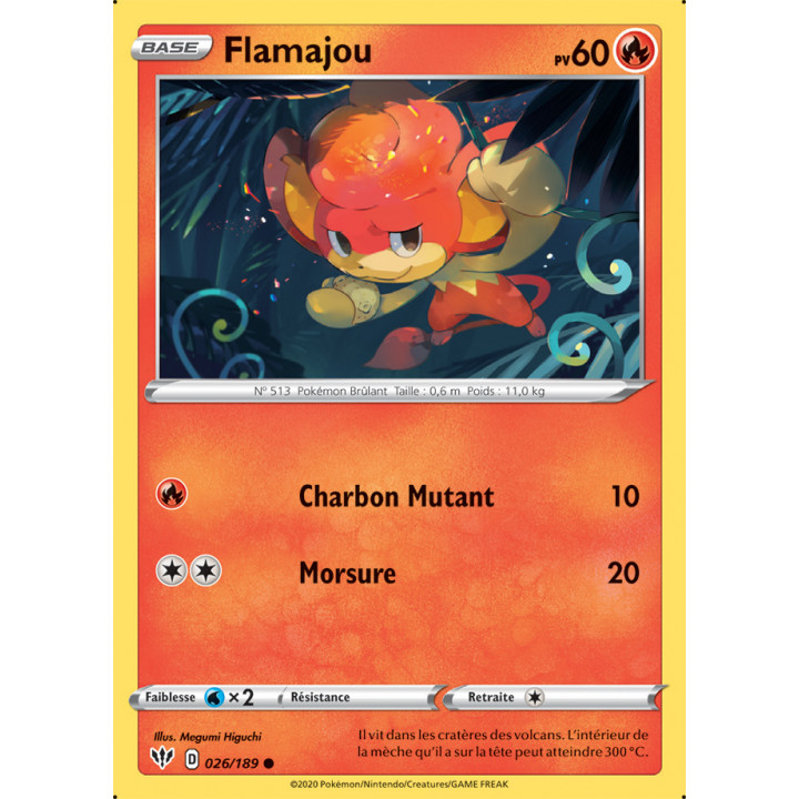 SWSH03_026/189 Flamajou
