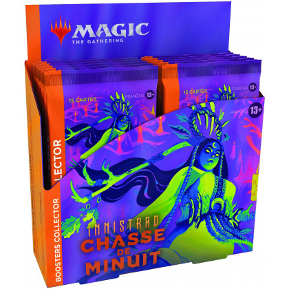 Display / Boite 12 boosters collectors Innistrad : Chasse de Minuit - Magic