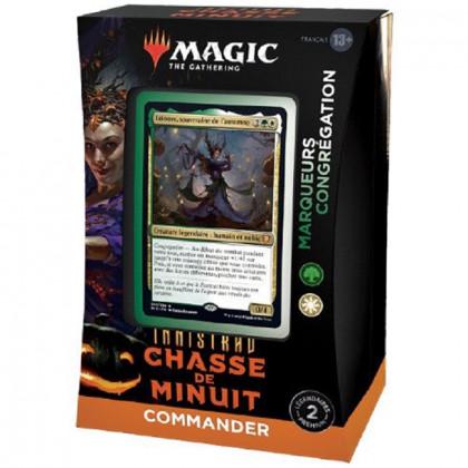 Deck Commander Marqueurs Congrégation Innistrad : Chasse de Minuit - Magic