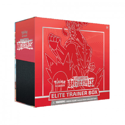 Elite Trainer Box SWSH05 Sword And Shield 5 Battle Styles - Red - Pokémon EN