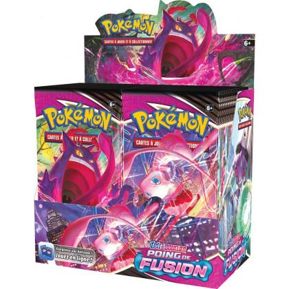 Display de 36 boosters Poing de Fusion EB08 Épée et Bouclier - Pokémon FR