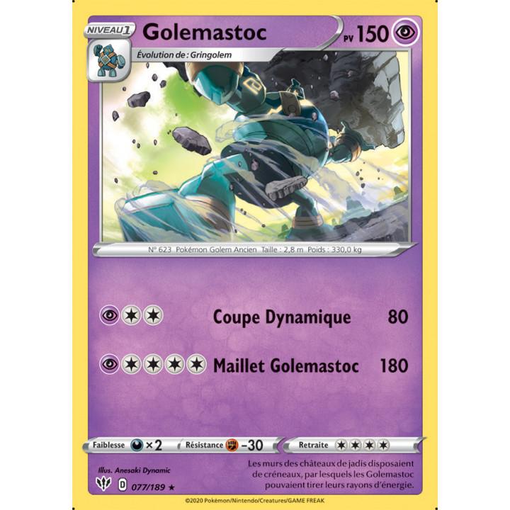 SWSH03_077/189 Golemastoc