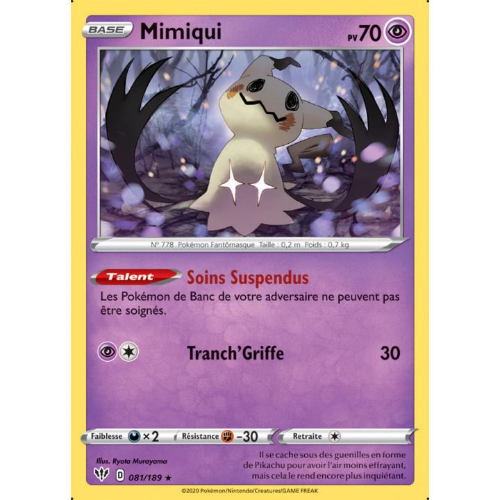 SWSH03_081/189 Mimiqui *Reverse*