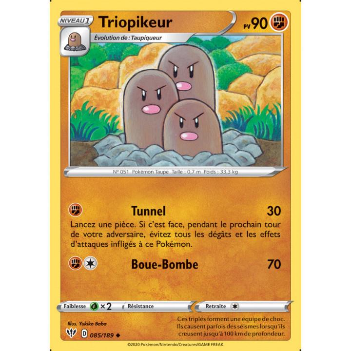 SWSH03_085/189 Triopikeur