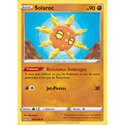 SWSH03_092/189 Solaroc