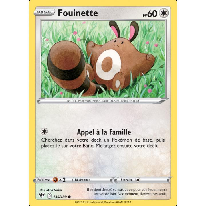 SWSH03_135/189 Fouinette
