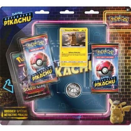 Coffret Pokémon Dossier Spécial Detective Pikachu