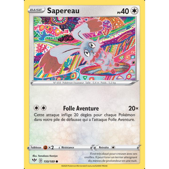 SWSH03_150/189 Sapereau *Reverse*