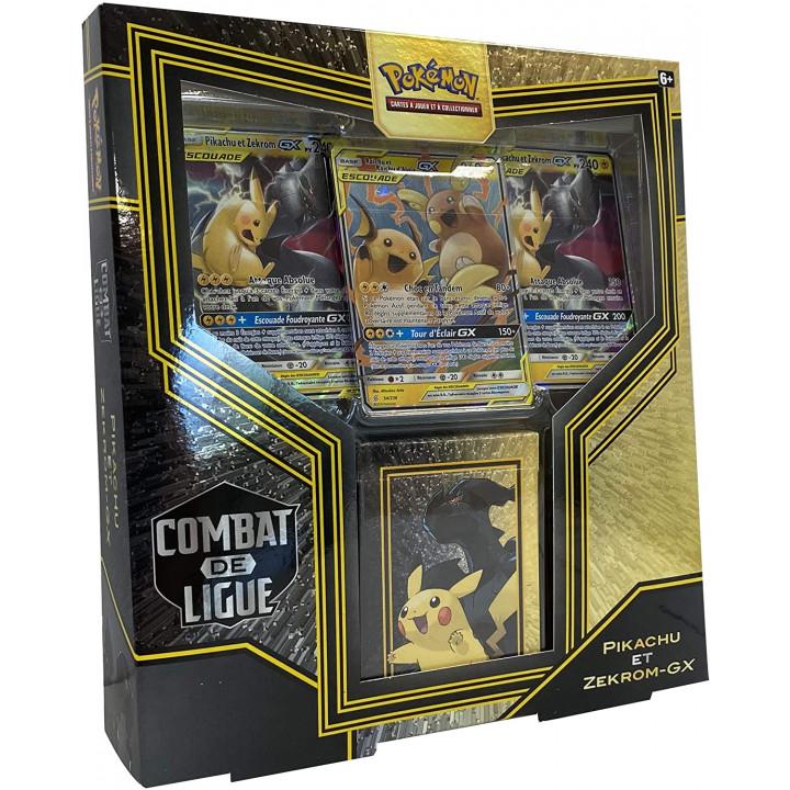 Coffret Tag Team Combat de Ligue : Pikachu et Zekrom-GX