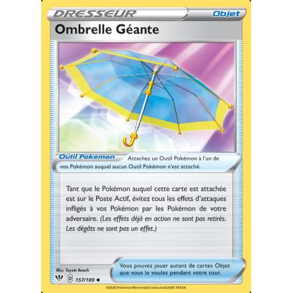 SWSH03_157/189 Ombrelle Géante