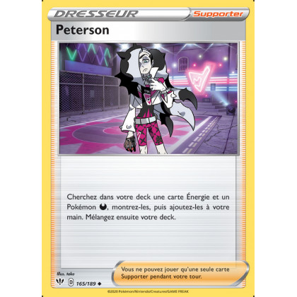 SWSH03_165/189 Peterson