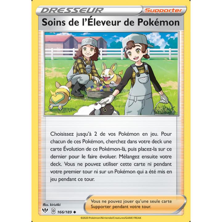 SWSH03_166/189 Soins de l'Éleveur de Pokémon *Reverse*