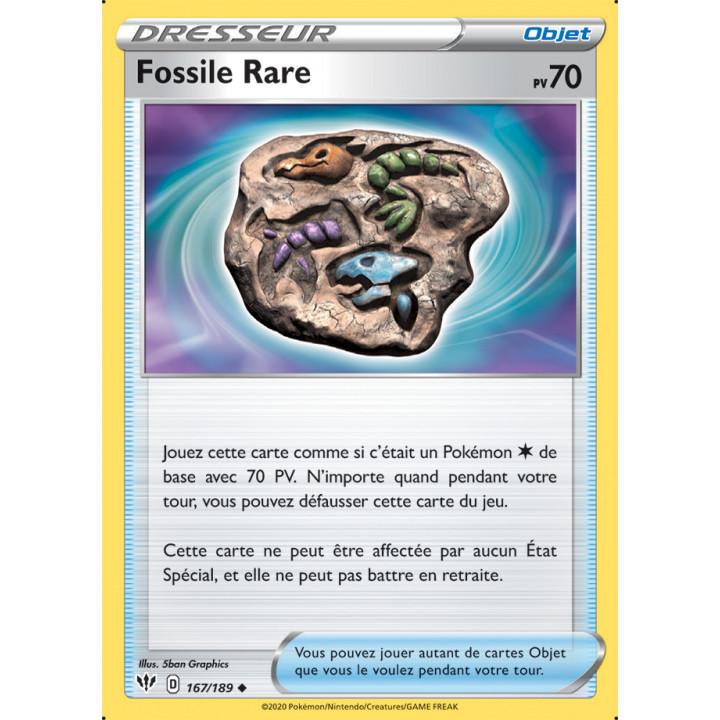 SWSH03_167/189 Fossile Rare *Reverse*