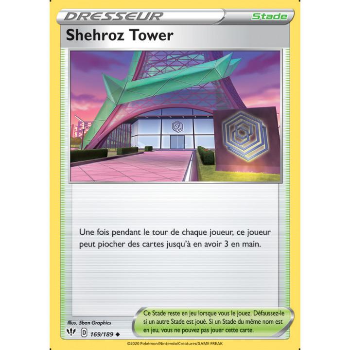 SWSH03_169/189 Shehroz Tower *Reverse*