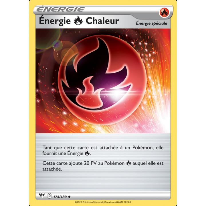 SWSH03_174/189 Énergie Feu Chaleur