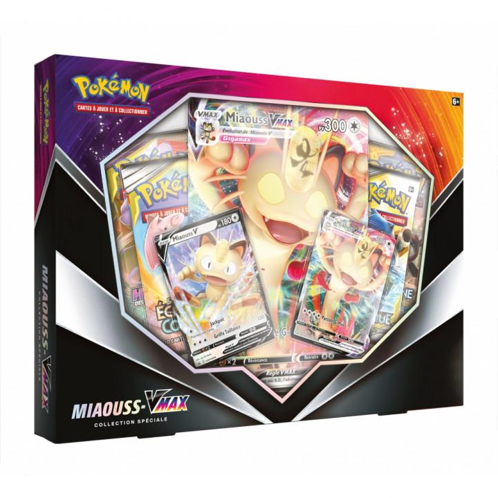 Coffret Pokémon Miaouss - Vmax