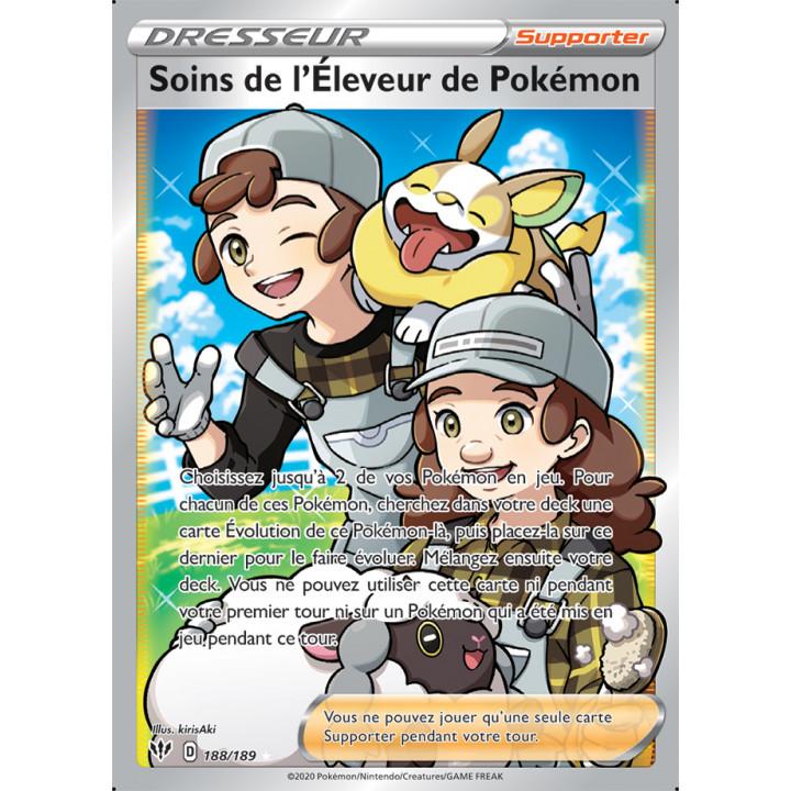 SWSH03_188/189 Soins de l'Éleveur Pokémon