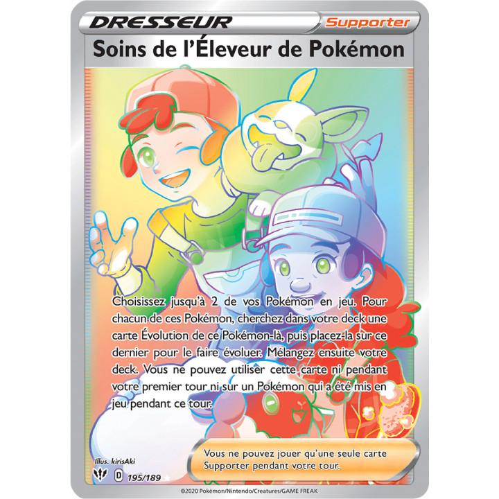 SWSH03_195/189 Soins de l'Éleveur de Pokémon