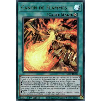 LED7-FR005 Canon de Flammes